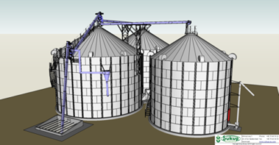 America siloer til korn opbevaring